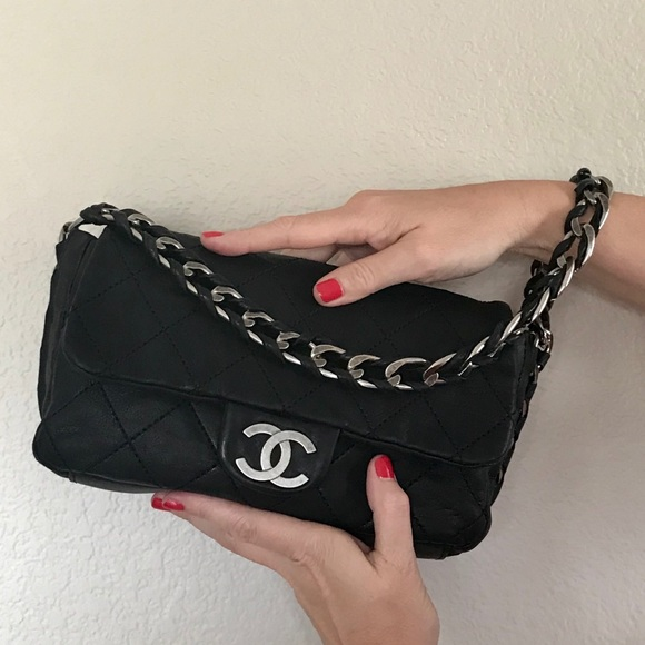 652e10dd182e CHANEL Handbags - SALE CHANEL Black Quilted Modern Chain Flap Bag